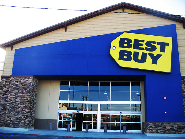 Best Buy Cabinet Sign