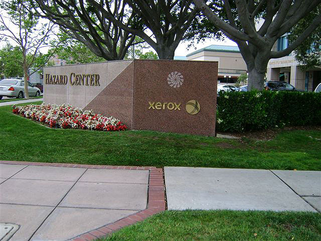 Hazard Center Monument Sign