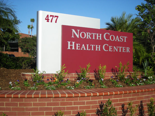 North Coast Health Center Monument Sign