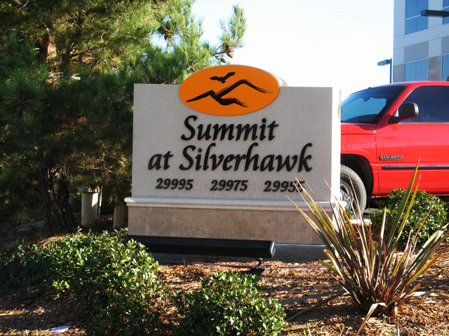 Summit Monument Sign