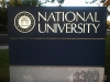 National University Monument Sign